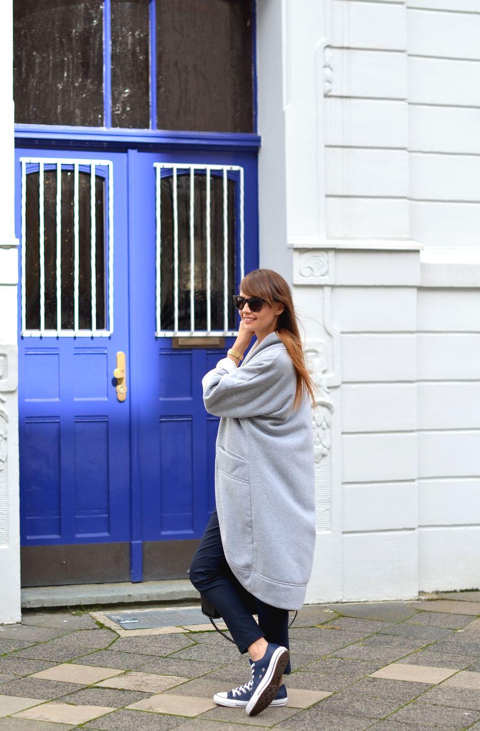 trampki converse | spodnie preska | wycieczka do dusseldorfu | blog o modzie