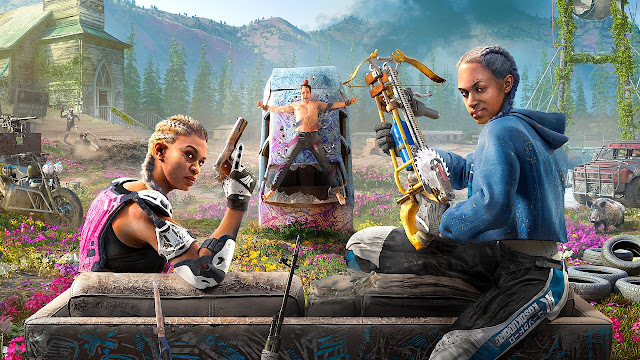 Far Cry: New Dawn. Platform PS4, Xbox One, PC.