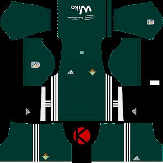 Real Betis  Kits 2017/18 - Dream League Soccer