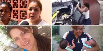 imagem de Silmara de Moraes e Sandra Ferreira, Leiliane Rafael Silva, Heley de Abreu Silva Batista e Maria das Dores Hipólito Pires