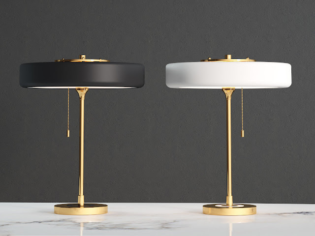 Table Lamp Collection Free Sketchup Models