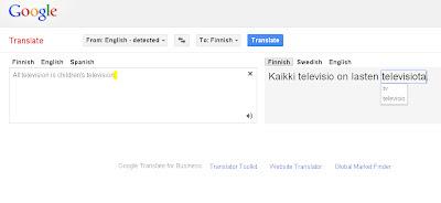 suomi englanti google translate