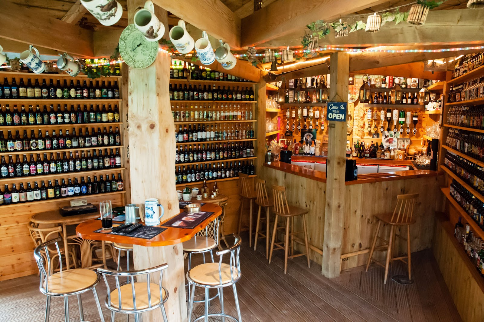 Shedworking woodhenge pub shed wins shed of the year 2012 for Man cave shed plans