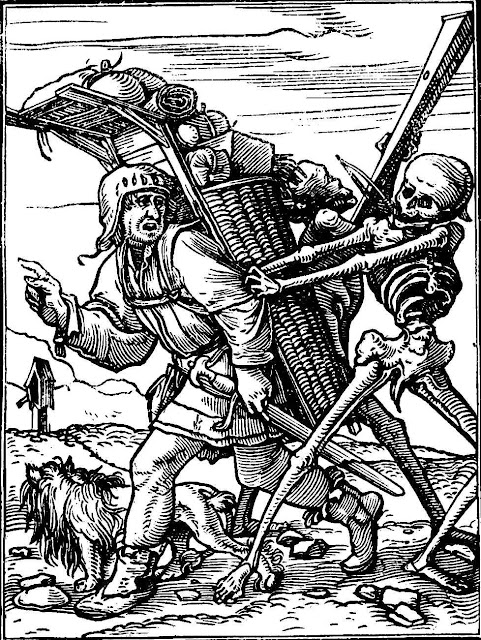 Hans Holbein 1549 illustration dance of death
