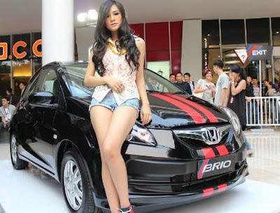 honda brio city car