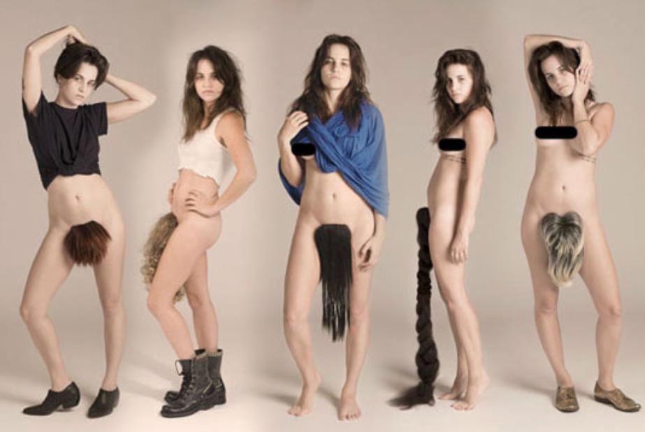 Hot female kickboxers nude