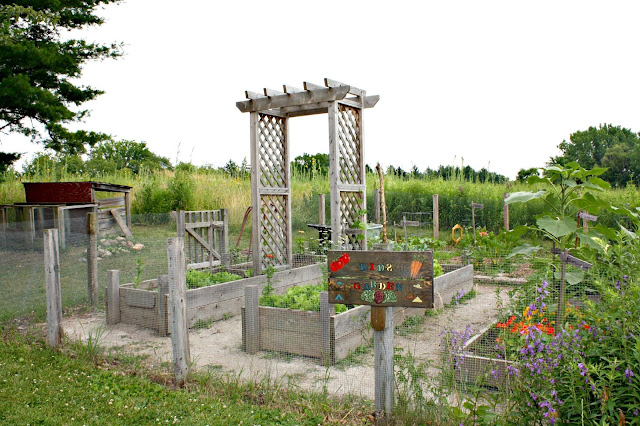Children's Learning Garden at Spring Valley Nature Center
