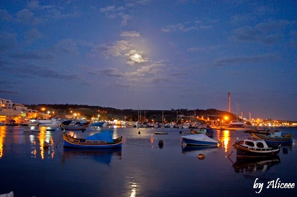 Marsaxlokk-by-night