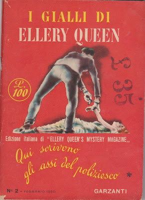 John Dickson Carr : L'assassinio dei proverbi (The Proverbial Murder, 1943?) - senza trad. - in I Gialli di Ellery Queen, Garzanti, N°2 Febbraio 1950