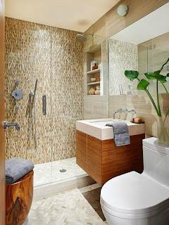 Foto de baño muy pequeño