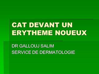 CAT DEVANT UN ERYTHEME NOUEUX .pdf