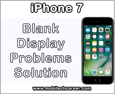 apple iphone 7 blank display touch screen problems how to fix it advance mobile repairing. Black Bedroom Furniture Sets. Home Design Ideas