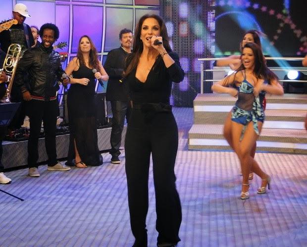 37612c893 Domingão conta com Ivete Sangalo e mais uma eliminatória de Os Imitadores