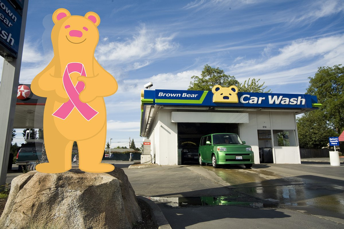 Photo Of Brown Bear Car Wash Puyallup Wa United States