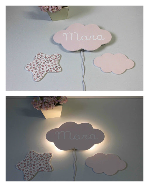 apliques-leds-pared-decoración-infantil