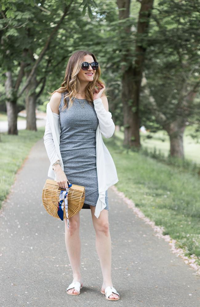 Bodycon Tank Dress #summerdess #summerstyle