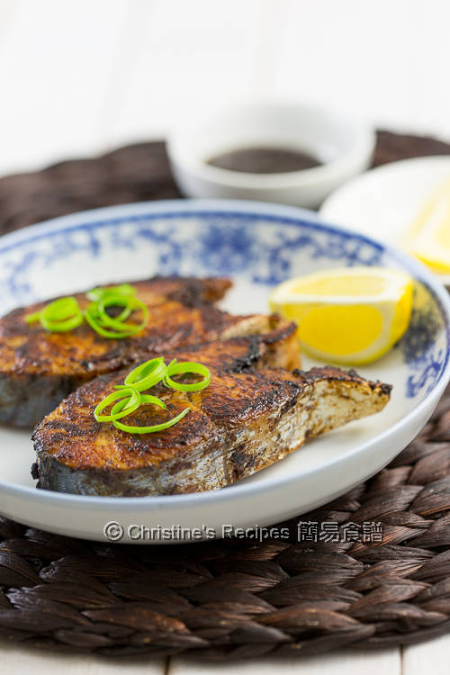 香煎磨豉醬鮫魚 Pan-fried Mackerel with Bean Sauce03