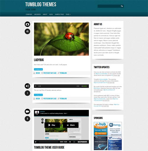 Free Premium WordPress Themes 2016