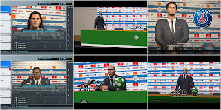 PSG Press Rooms by Ivnkr For PES 2017 / 2018 and 2019