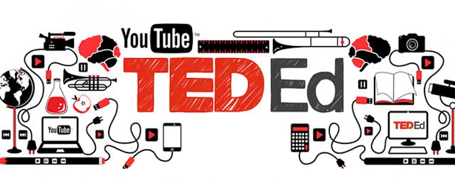 شعار موقع TED ED