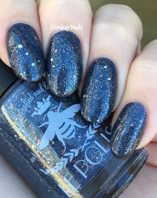 ehmkay nails le polish a great miracle happened there december polish pickup. Black Bedroom Furniture Sets. Home Design Ideas