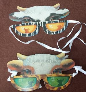 目かくしゲーム Blinde Kuh (牛のマスク)