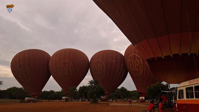 Vuelo en globo Bagán