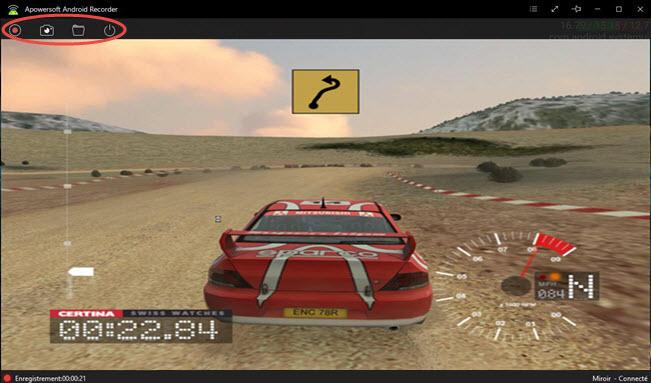 Capture d'ecran / vidéo Andoid vers PC