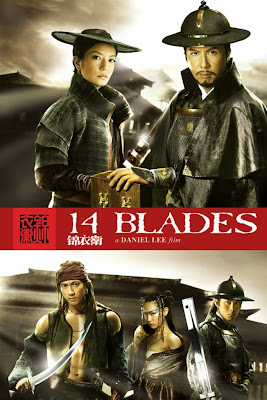 Poster Of 14 Blades 2010 In Hindi Dual Audio Bluray 720P Free Download