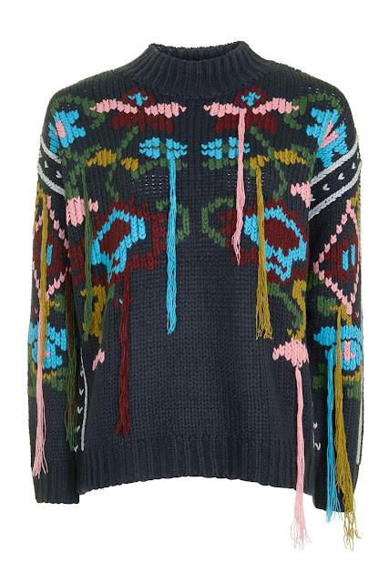 tassel jumper, threads jumper,