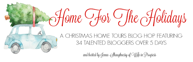 A Christmas home tours blog hop