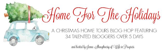 A Christmas home tours blog hop