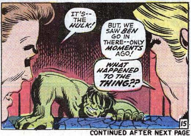Incredible Hulk 122 Fantastic Four