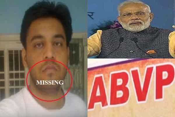 हद हो गयी, नजीब को गायब किया मोहम्मद शमीम ने, कांग्रेसिये और आपिए दोष देते रहे MODI-ABVP को