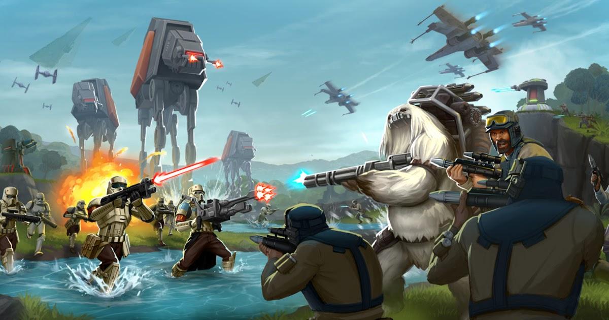 Star Wars Aufbauspiel