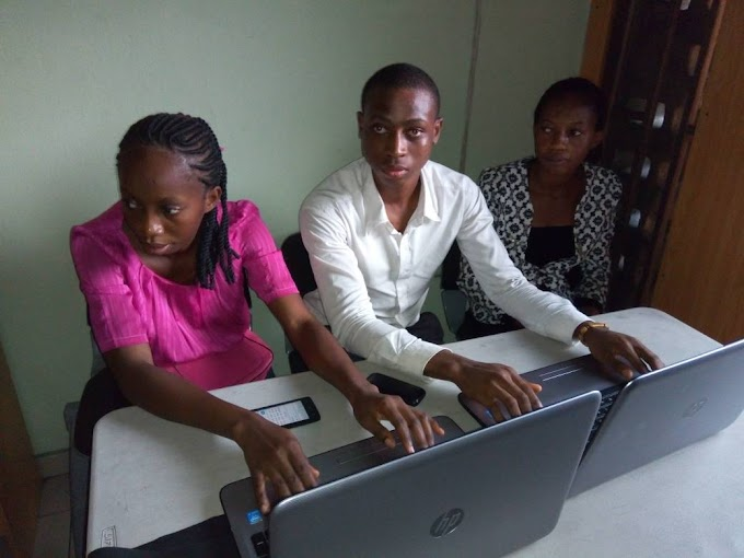 THE VISUALLY IMPAIRED LEARNS ICT AT KIR FOUNDATION