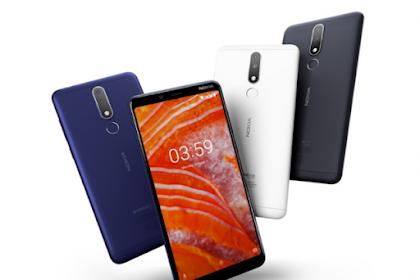 Spesifikasi dan Harga Nokia 3.1