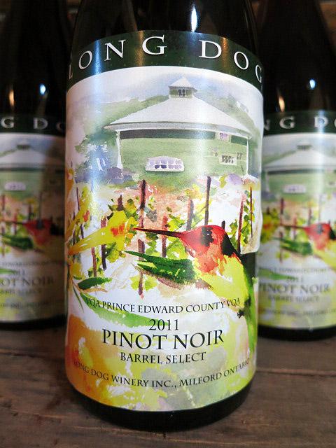 Long Dog Barrel Select Pinot Noir 2011 (90 pts)