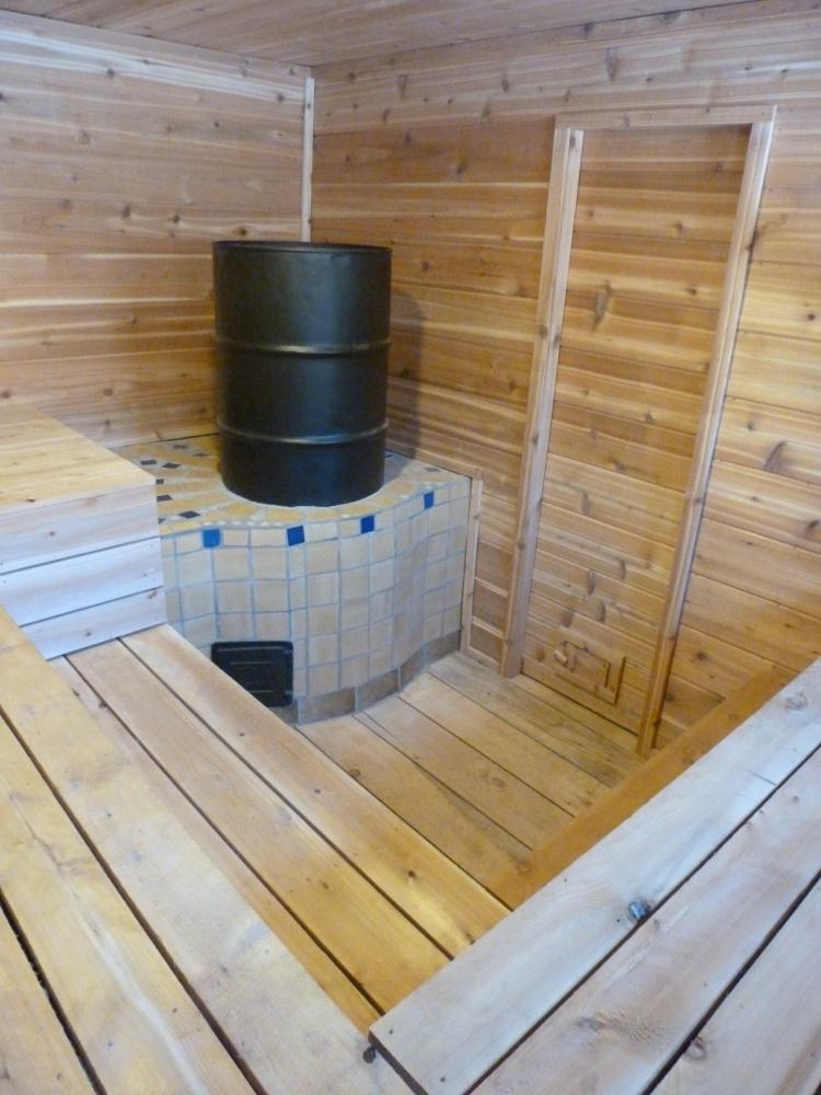 Beautiful rocket mass heaters rocket mass heater forum at for Rocket stove mass water heater
