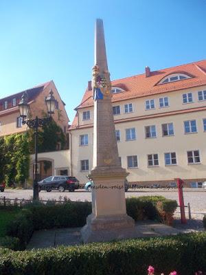 Postmeilensäulen und Distanzsäulen in Sachsen