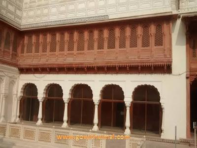 Vikram palace lobby, Bikaner