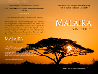Malaika by Van Heerling, Cover by The Book Khaleesi