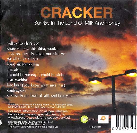 CRACKER - SUNRISE IN THE LAND OF MILK AND HONEY - B