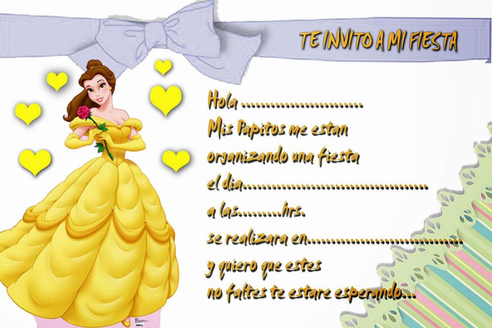Imprimir Tarjetas De Invitacion Cool Minnie Rosa Imprimibles - Tarjetas-de-invitacion-cumpleaos