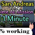 How to Skip All Missions of GTA San Andreas PC