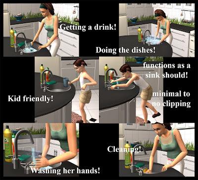 Sims  Sims Won T Use Kitchen Sink