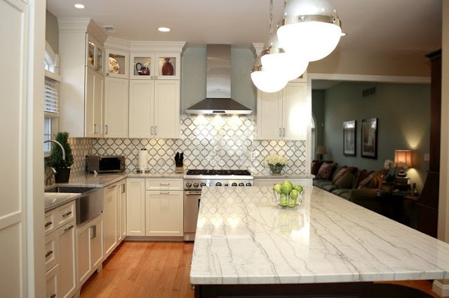 super white quartzite countertops