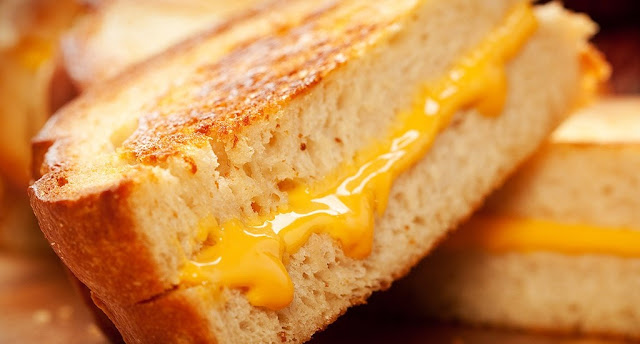 Clean Eating Grilled Cheese
