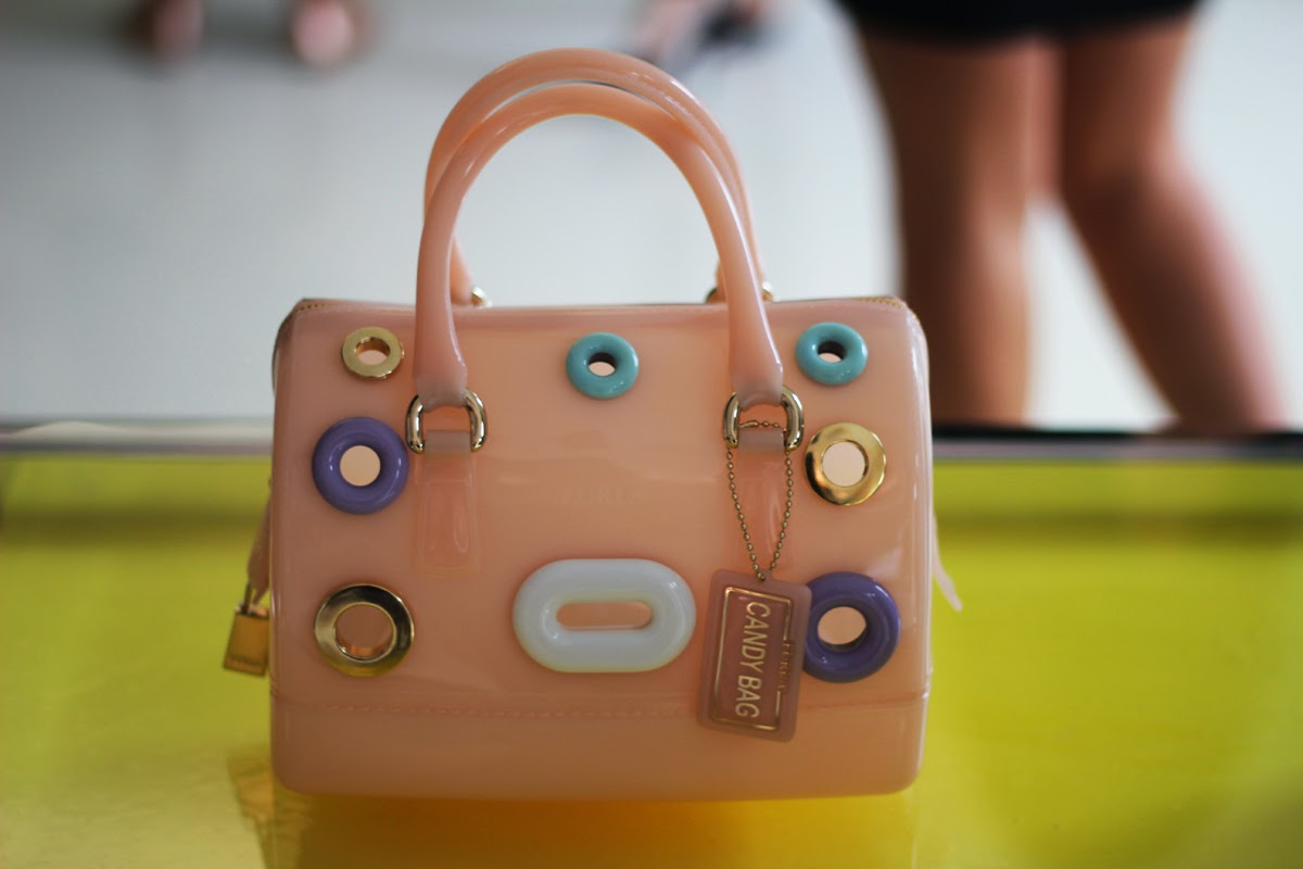 milan fashion week style candy bag furla
