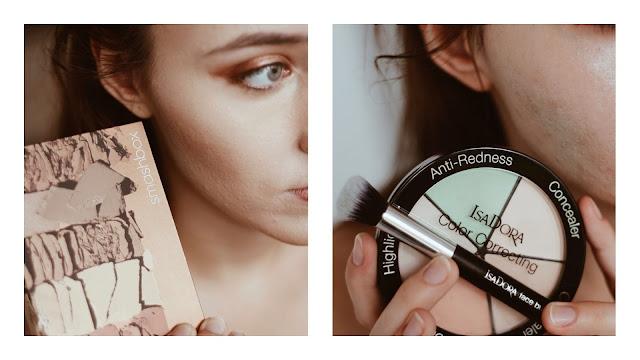 Makijaż nowościami. Smashbox, Isadora, Laura Mercier, GlamGlow, Essence, Makeup Revolution, Nyx, Bielenda